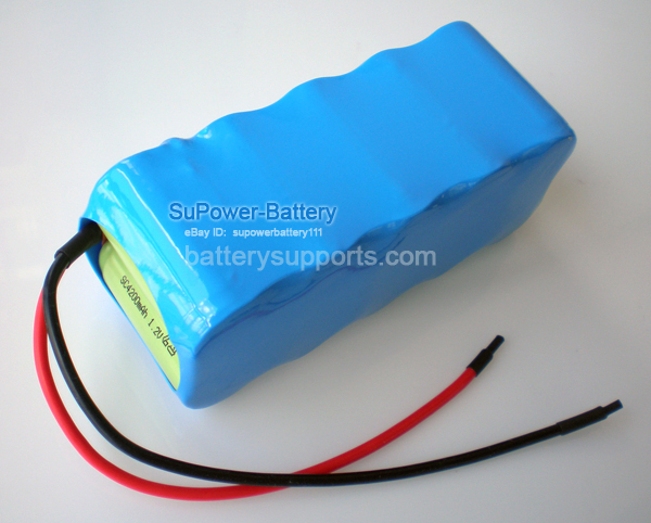 NiMH sub-C 12V 4200mAh Rechargable High Drain R/C Robot Battery